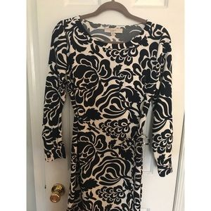 LOFT polyester shift dress